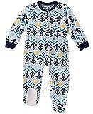 Nautica Baby Boys Blanket Sleeper, Light Blue Print, 18M
