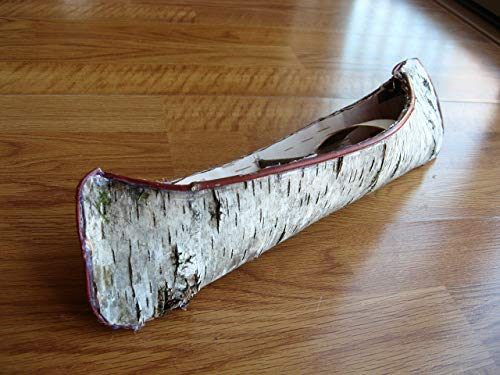 Mini Birch bark Canoe