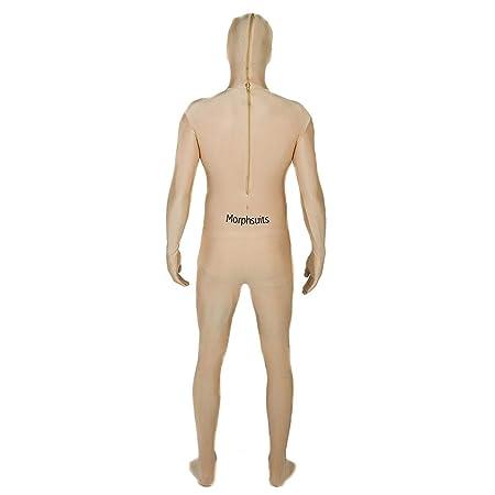 Morphsuits - Disfraz de segunda piel (pegado al cuerpo), Negro, talla L (MSBKL)