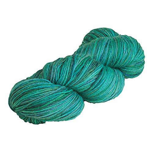 Super Fine Merino Wool Sock - Knit Picks Stroll Hand Painted Merino Sock Yarn (Cold Stream Tonal)