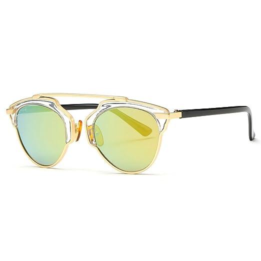 83c946d1794 AEVOGUE Women s Sunglasses Polarized Color Nose Pads Single Beam Polaroid  Lens Uv400 (Black