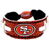 GameWear NFL San Francisco 49ers Classic Football Bracelet