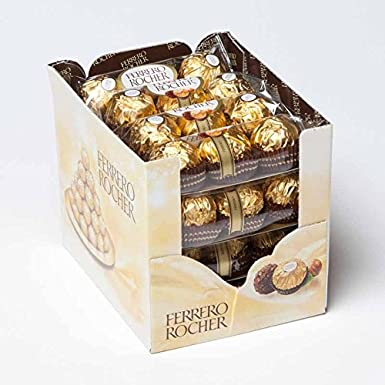 Ferrero Rocher Chocolates [16 x T3 Packs] 600g: Amazon.co.uk: Grocery