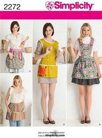 Simplicity S7552.A Patron de Couture Tablier Cuisine: Amazon ...