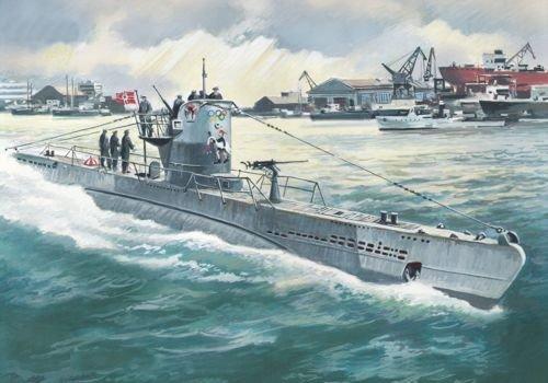 ICM Models U-Boat Type IIB 1943 Building Kit