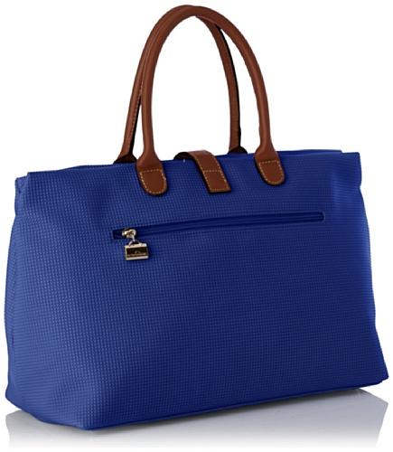 Lab C - Pochette Shop Ngo Donna, Blu (Blue), Taglia unica