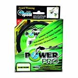 Power Pro Spectra Fiber Braided Fishing Line, Hi-Vis Yellow, 150YD/20LB