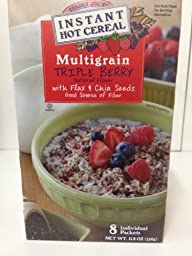 Trader Joes Instant Hot Cereal Multigrain Triple Berry (2 Pack)