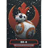 Star Wars Force Awakens Chrome Heroes Of The Resistance Chase Card 9 BB-8