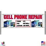 Cell Phone Repair iPhone Samsung iPad Store Business Advertising Vinyl Banner Sign