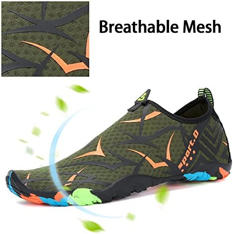 51zJ4cvGGzL. AC Mishansha Mens Womens Water Shoes Quick Dry Barefoot for Swim Diving Surf Aqua Sports Pool Beach Walking Yoga    Product Description