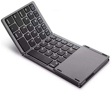 N/X Teclado Bluetooth Plegable con Panel Táctil Inalámbrico Y ...