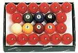 Aramith 2-1/4'' Snooker Billiard/Pool Balls, Complete 22 Ball Set
