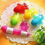 1 Pc Cute Mini Aircraft Shape Rollerball Pen Cute Retractable Ball Pen,Color Random