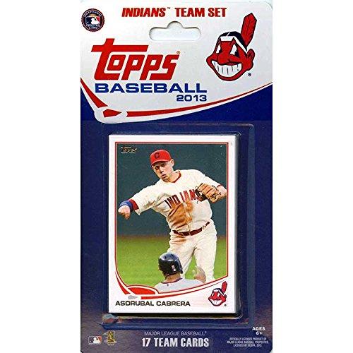 MLB Cleveland Indians Licensed 2013 Topps® Team Sets