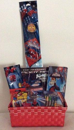 Marvel Spiderman Easter/Birthday Basket