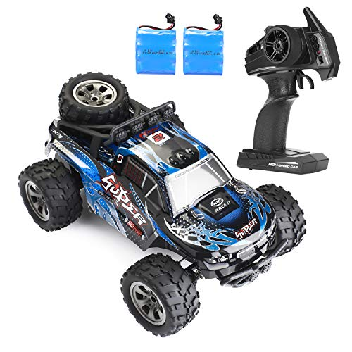 RC Car,5 TOURING The Latest 2.4G Remote Control car 1/18 Blue Truck, for All Adults and Children's Trucks from 5 TOURING