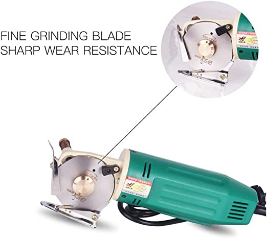 cuchilla giratoria port/átil de mano cortadora de tela de cortador de tela redonda el/éctrica eu Cortador de tela el/éctrico de 65 mm tijeras el/éctricas de tela