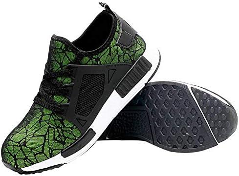 サマーセーフティ作業靴 スチールヘッド 傷防止 パンク防止 保護靴構造 ノンスリップブーツ 軽量 通気性 メンズ&レディース カジュアルシューズ (35~46) 46 グリーン