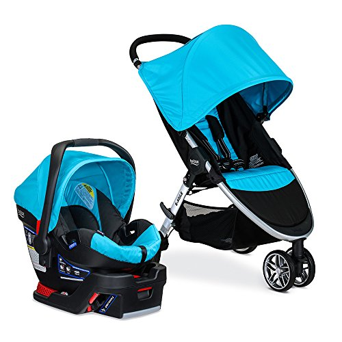 Lowest Price! Britax 2017 B-Agile/B-Safe 35 Travel System, Cyan