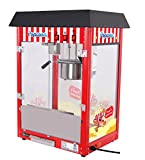 Movie Theater Style 8 oz. Ounce Popcorn Machine. Quick popcorn within 3 min