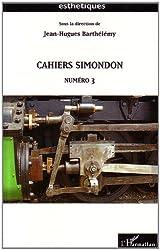 Cahiers Simondon Numero 3