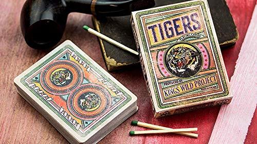 Jackson Robinson Kings Wild Tigers Playing Cards