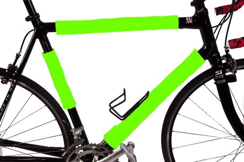 BikeWrappers Reflectors – Neon Green