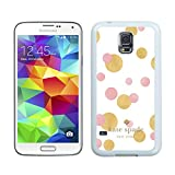 Samsung Galaxy S5 G9008V Kate Spade White 018 screen phone case durable and newest design