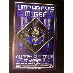 Umphrey's Umphreys McGee Rare Original Limited Ed Denver Fillmore Concert Poster