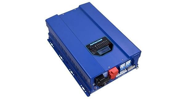Solar inversor 10000 W pico 30000 W DC 24 V AC 220 V 230 V ...