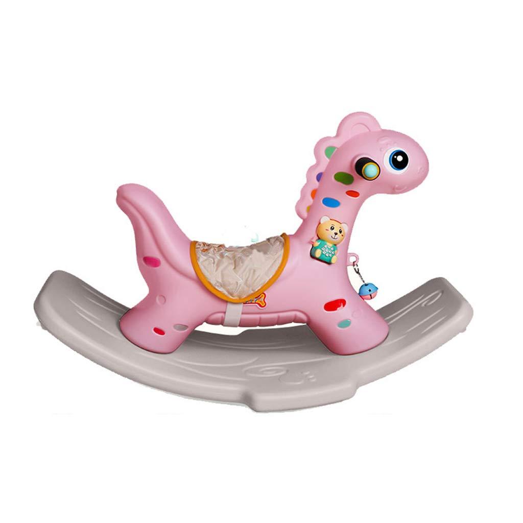 ウイスキー専門店 蔵人クロード 子供ロッキングホース環境保護PE素材ロッキングホース赤ちゃん知育玩具ベビーロッキングクレードル B07MW1R31M Pink) (色 : Pink) B07MW1R31M Pink Pink, 奥美濃ひるがの高原 牧歌の里:2974808c --- arianechie.dominiotemporario.com