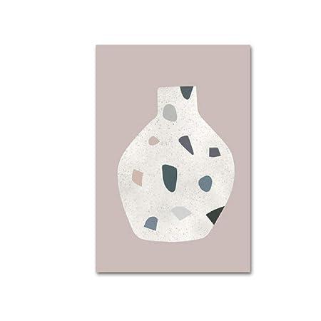 Bodegón abstracto Cartel vintage e impresión de lienzo ...