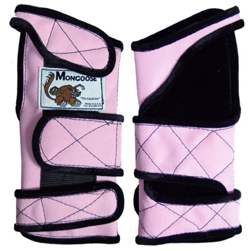 Mongoose Equalizer Pink Wrist Support- Right Hand (Medium)