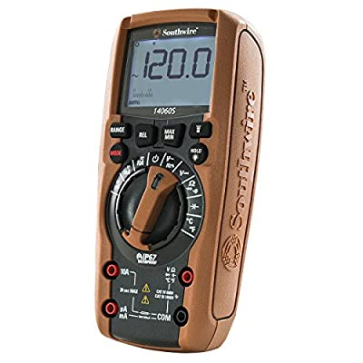 Southwire Tools & Equipment 14060S TechnicianPRO Auto-Ranging Digital Multimeter with 11 Functions