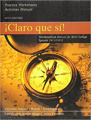 Caycedo Claro Que Si Wblm(blinn)Cpc: Houghton Mifflin Company ...