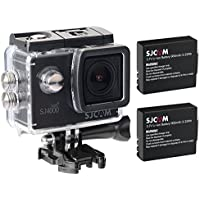 SJCAM Original SJ4000 WiFi Version Full HD 1080P 12MP 2.0 LCD Diving Bicycle Action Camera(Black) + Extra 1 Battery