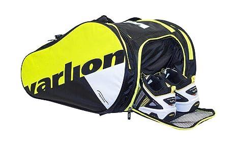 Varlion Ergonomic Amarillo - Paletero de pádel, Unisex Adulto, Amarillo/Negro/Blanco: Amazon.es: Deportes y aire libre