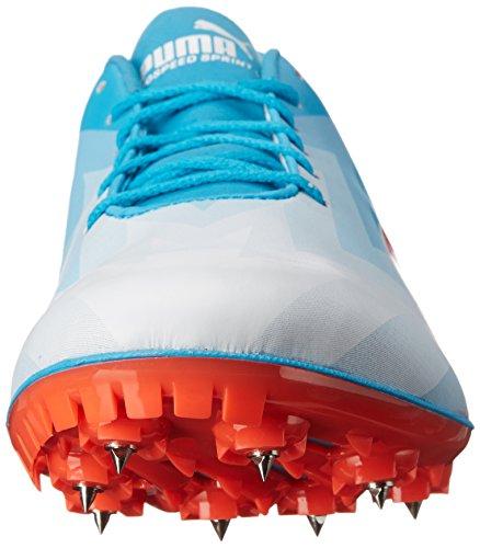 Puma Evospeed Sprint V6 de la zapatilla de deporte Atomic Blue/Red Blast