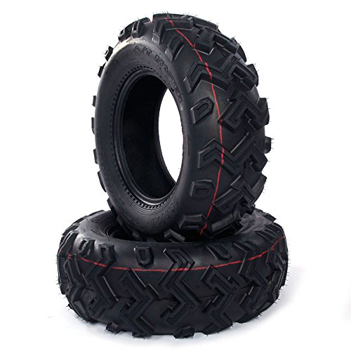 Set of 2 New ATV UTV Rear Tires 25x10-12 Rear 25x10x12, 6 Ply P306B by Autoforever (Image #5)