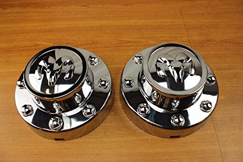 Set Center Cap Hubcap - Dodge Ram 3500 Set Of Rear Wheel Center Cap Hubcap Covers Mopar OEM