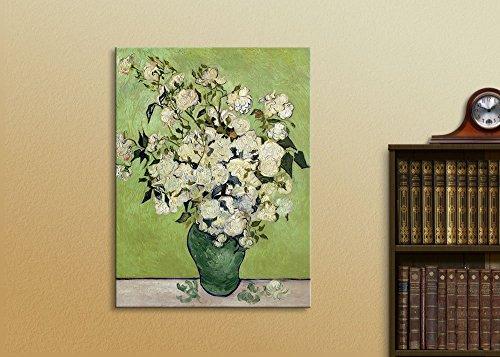 Irises Roses Vincent Van Gogh Oil Painting Reproduction