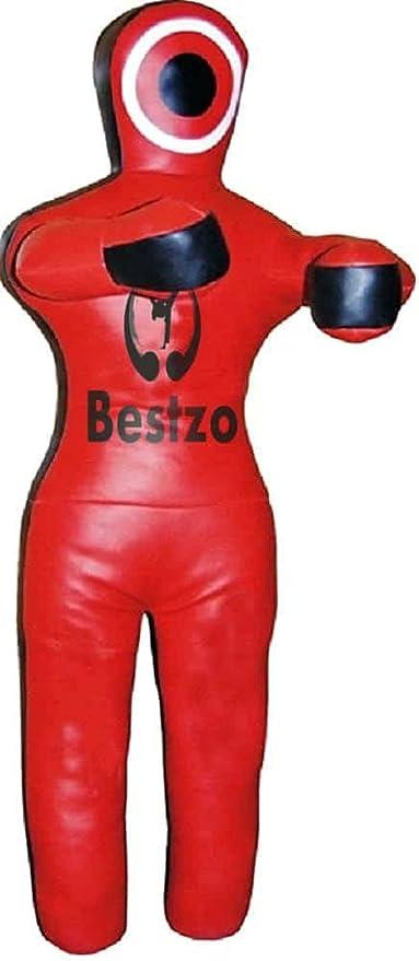 No completado Bestzo MMA Artes Marciales Maniqu/í brasile/ño Grappling Rojo//Negro Posici/ón sentada
