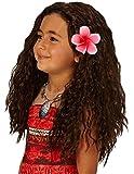 Rubie' s Costume ufficiale Disney Moana parrucca con fiore di