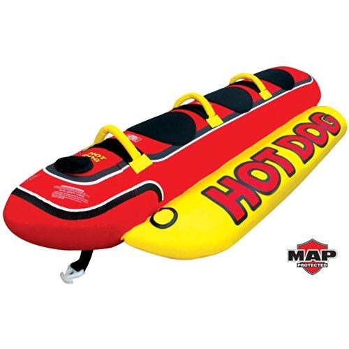 Hot Dog 3 Person Ride on Towable - Jumbo Dog Towable