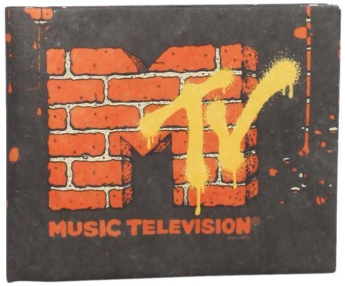 Dynomighty Mens Mtv Mighty Wallet One Size Black//Orange