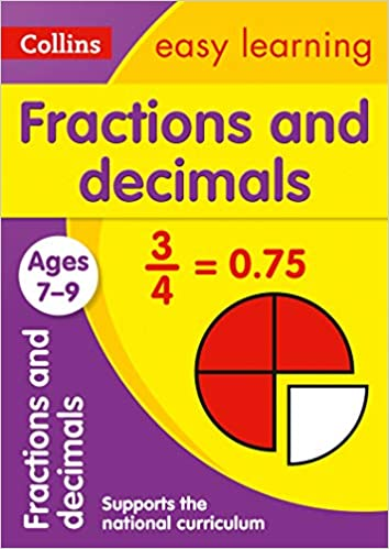 Fractions and Decimals Ages 7-9 (Collins Easy Learning KS2 ...