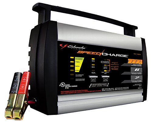Schumacher SCF-1000A 10/6/2A SpeedCharge Battery Charger