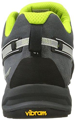 Pro Mixte Wildfire randonnée Gris Chaussures Green Adulte de et 0763 Trekking Un Carbon Salewa EqCwT1