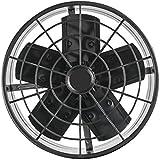 Ventilador Axial Exaustor Industrial 30 cm 127V Premium, Ventisol, Preto